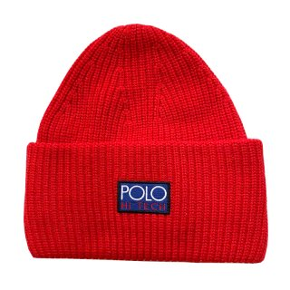 POLO RALPH LAUREN POLO HI TECH BEANIE RED