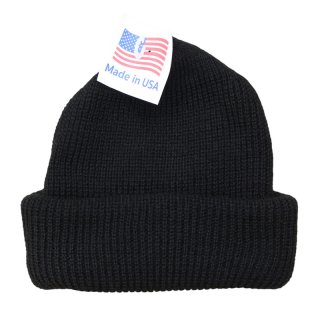 ROTHCO ACRYLIC WATCH BEANIE BLACK