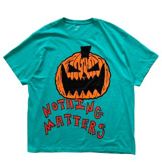 ASSPIZZA BY AUSTIN BABBITT NOTHING MATTERS TEE GREEN
