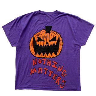 ASSPIZZA BY AUSTIN BABBITT NOTHING MATTERS TEE PURPLE
