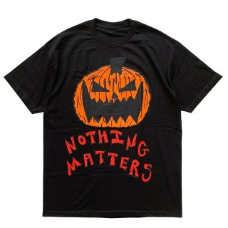 ASSPIZZA BY AUSTIN BABBITT NOTHING MATTERS TEE BLACK