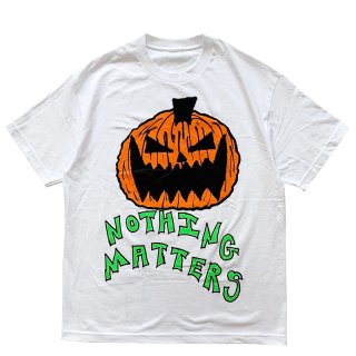ASSPIZZA BY AUSTIN BABBITT NOTHING MATTERS TEE WHITE