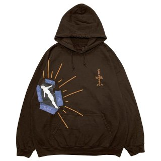 HITR CACTUS NOT FOR DECODING HOODIE BROWN