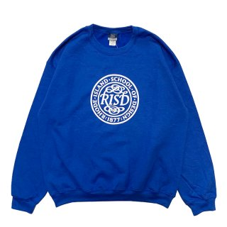 RHODE ISLAND SCHOOL OF DESIGN MV SPORT SWEATSHIRT ROYAL BLUE