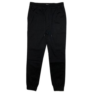 ELWOOD STRETCH TWILL JOGGER BLACK