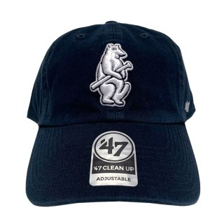 "'47 BRAND ""CHICAGO CUBS"" CLEAN UP TWILL CAP NAVY"