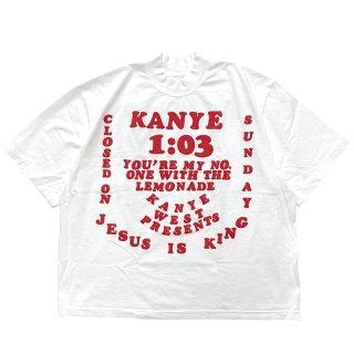 KANYE WEST CPFM FOR JESUS IS KING T-SHIRT III WHITE