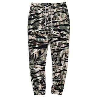 ELWOOD STRETCH TWILL JOGGER TIGER STRIPES