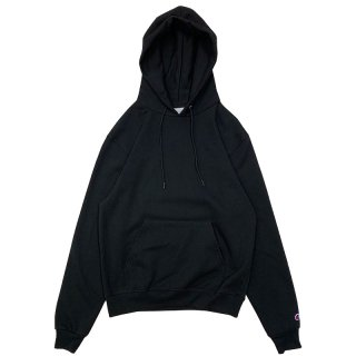 CHAMPION AUTHENTIC PULLOVER HOOD BLACK