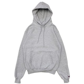 CHAMPION AUTHENTIC PULLOVER HOOD GREY