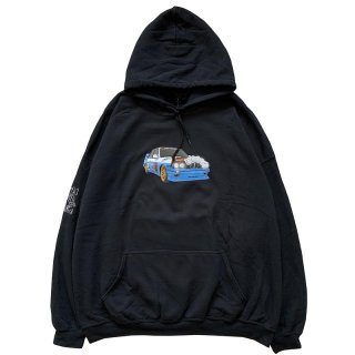 JACKBOYS VEHICLE HOODIE BLACK