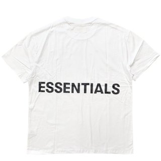 FOG ESSENTIALS FOG BOXY GRAPHIC SS TEE STRETCH LIMO WHITE