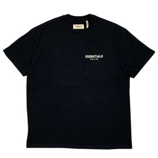 FOG ESSENTIALS FOG LOGO SS TEE STRETCH LIMO BLACK
