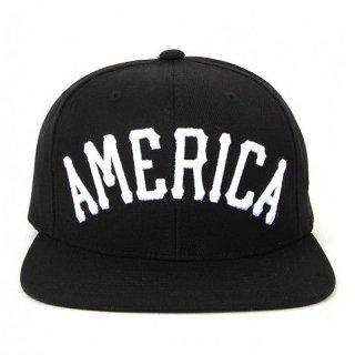 BLACK SCALE BLVCK AMERICA SNAPBACK BLACK