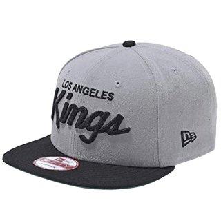 NEW ERA  9FIFTY LOS ANGELES KINGS GREY BLACK