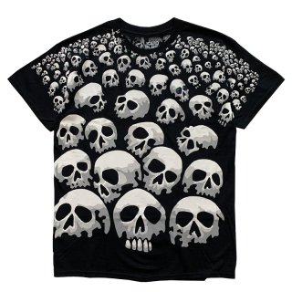 LIQUID BLUE SONS OF SKULLS TEE BLACK