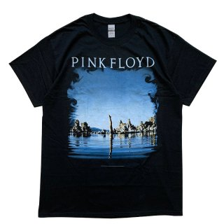 PINK FLOYD DIVER WISH YOU WERE HERE TEE BLACK