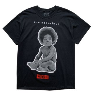 THE NOTORIOUS B.I.G READY TO DIE TEE BLACK
