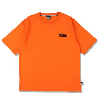 FIRST DOWN EMBROIDERY TEE ORANGE
