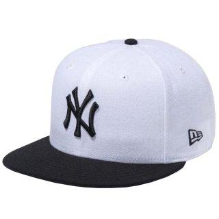 NEW ERA 9FIFTY  NEW YORK YANKEES WHITE BLACK