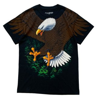 LIQUID BLUE EAGLE TEE BLACK