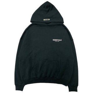 FOG ESSENTIALS BOXY PHOTO PULLOVER HOODIE BLACK