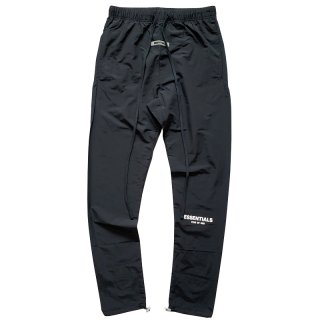 FOG ESSENTIALS NYLON TRACK PANTS BLACK
