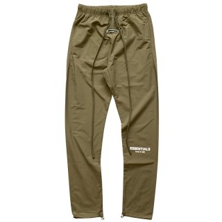 FOG ESSENTIALS NYLON TRACK PANTS OLIVE