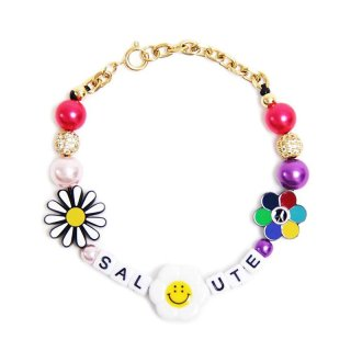SALUTE FLOWER ANARCHY BRACELET (SUPPLIER Ver) MULTI