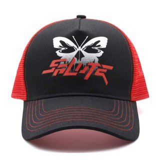 SALUTE BUTTERFLY CAP RED