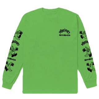 AMINÉ x VERDY LIMBO LONG SLEEVE TEE GREEN