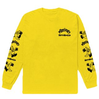 AMINÉ x VERDY LIMBO LONG SLEEVE TEE YELLOW
