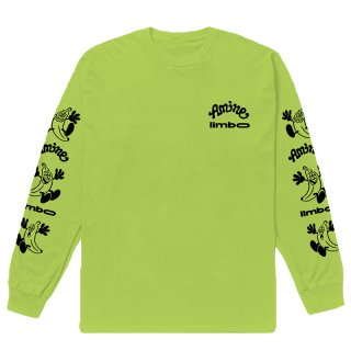 AMINÉ x VERDY LIMBO LONG SLEEVE TEE LIGHT GREEN