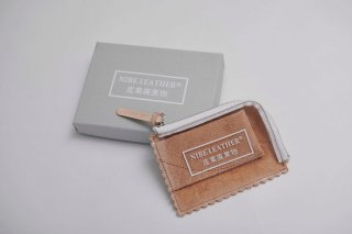 NIBE LEATHER 産業廃棄物 WALLET small