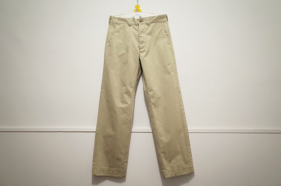 <img class='new_mark_img1' src='https://img.shop-pro.jp/img/new/icons6.gif' style='border:none;display:inline;margin:0px;padding:0px;width:auto;' />WASEW L9-19 KHAKI TROUSERS