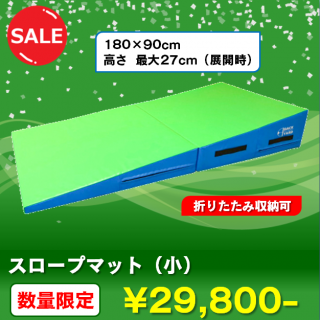 <img class='new_mark_img1' src='https://img.shop-pro.jp/img/new/icons24.gif' style='border:none;display:inline;margin:0px;padding:0px;width:auto;' />【数量限定!セール価格】スロープマット(小) - スポーツ・アクティビティ製品のバックヤード
