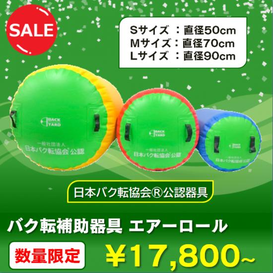 バク転補助器具 エアーロール(日本バク転協会公認)