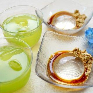 [お中元・手土産]深蒸し八女茶と涼菓のギフト