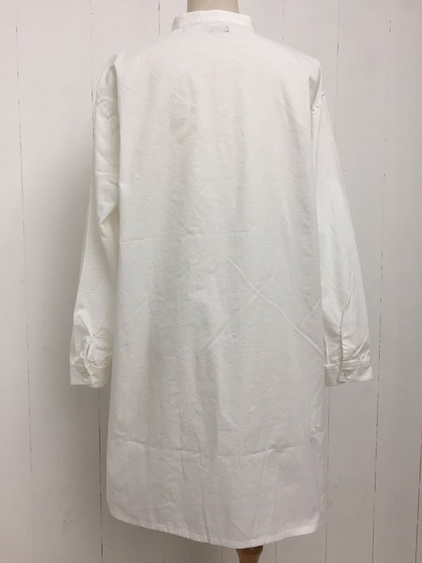 フリル プルオーバー ロングシャツ