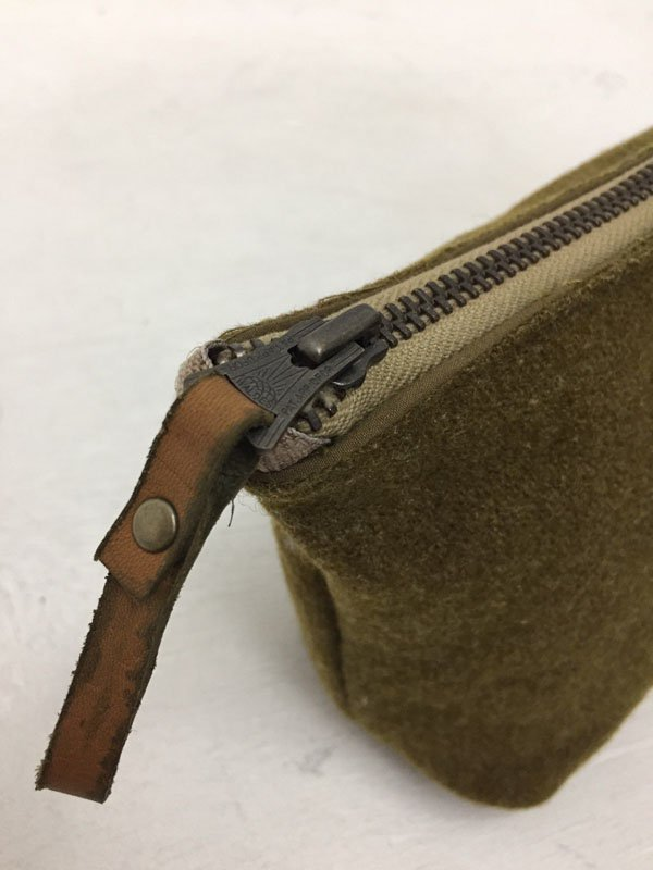 blanket pouch マチ付き