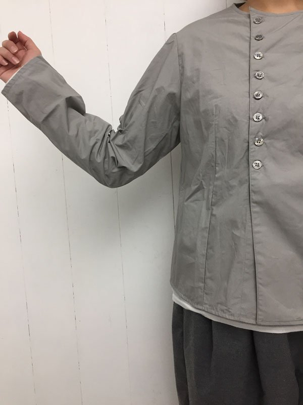 コットンタイプライタークロス コックシャツ