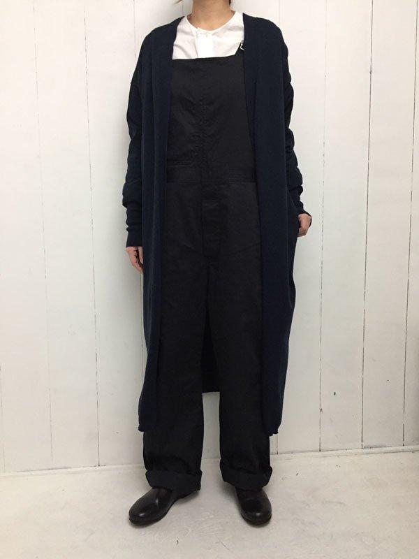 32/2 コットン 14G天竺編み ロングカーディガン