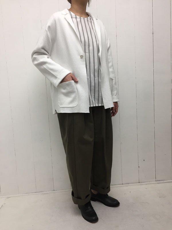 daily cotton カーデジャケット