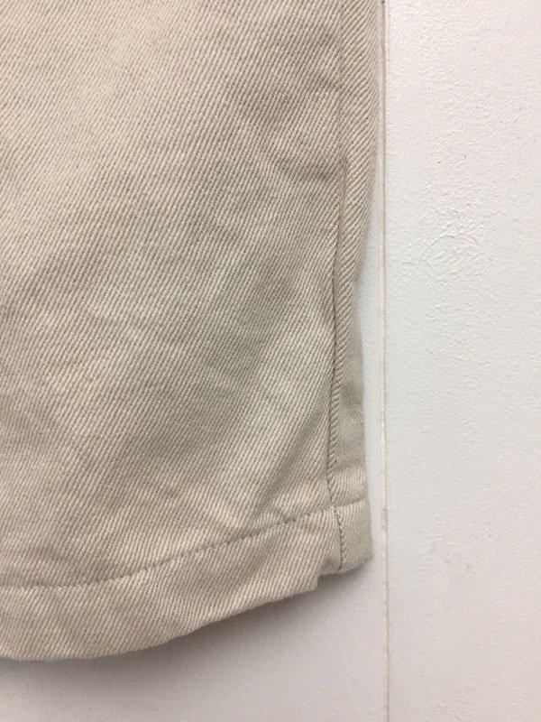 コットンリネンチノ 5ポケット テーパードパンツ