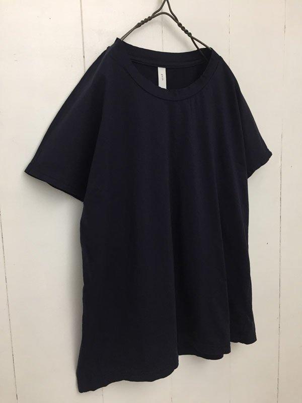 88/2 サイロコンパクトハイゲージ天竺 ショートスリーブ クルーネックTシャツ
