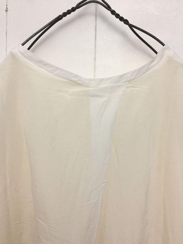 コットンシルク レイヤーTシャツ