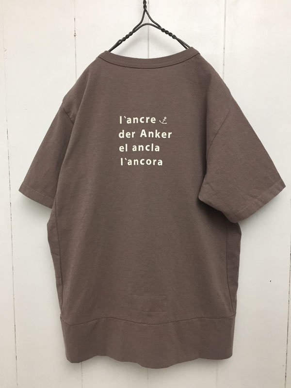 海上がり Girl's Tシャツ アンカー