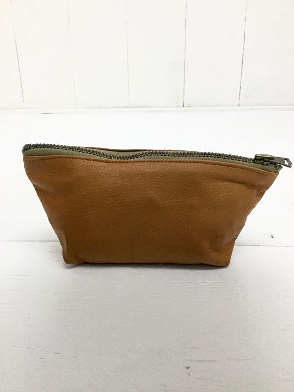 LEATHER POUCH:M