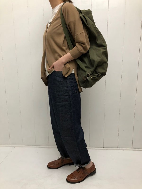 2/100 HIGH TWIST COTTON カーディガン