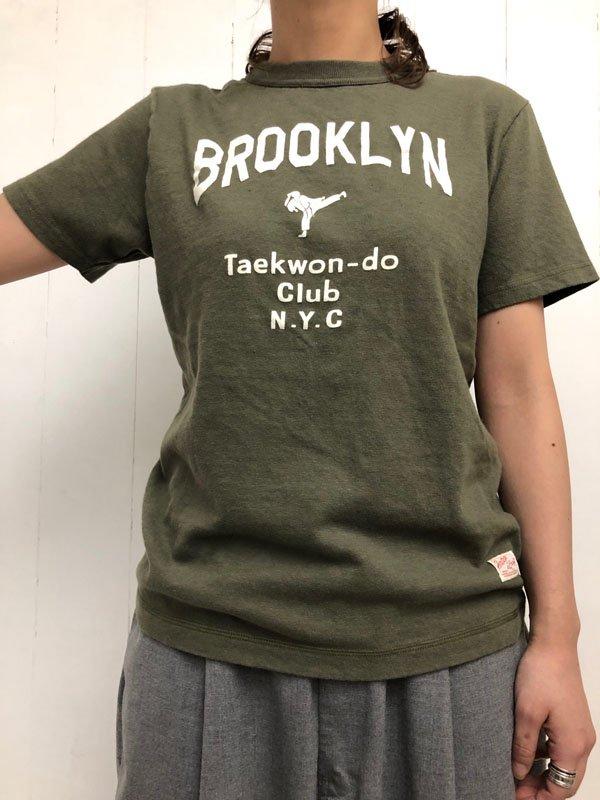 """USED・Tシャツ """"ブルックリン・テコンドー"""""""